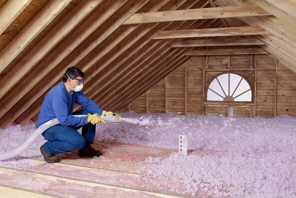 We buy houston houses - attic insulation