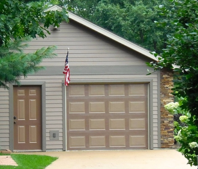 New garage door simple garage door and repair 19 on garage for 18 x 8 garage door prices